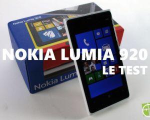 Test du Nokia Lumia 920 sous Windows Phone 8