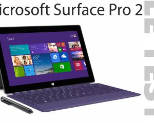 Test de la Microsoft Surface Pro 2 sous Windows 8.1 Pro