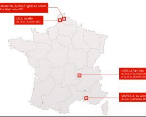 Les nouveaux Windows Phone en tournée dans toute la France pour Noël