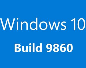 Windows 10 Technical Preview se met à jour et propose la build 9860