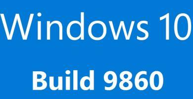 Windows 10 Technical Preview se met à jour et propose la build 9860