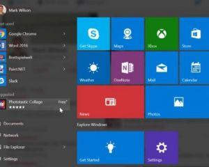 Windows 10 : suggestions ou publicités pour des applis dans le menu démarrer ?