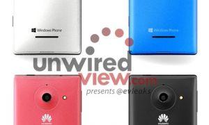 Le Huawei Ascend W1 se dévoile en 4 couleurs