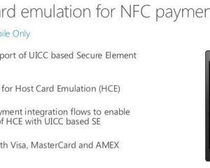 Windows 10 supporterait nativement le paiement sans contact