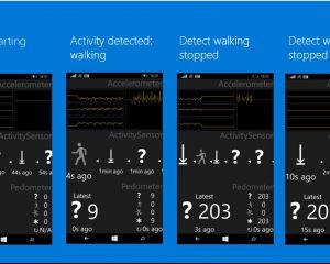 Windows 10 supportera de nouveaux capteurs (baromètre, podomètre,...)