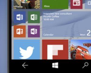 Windows 10 Mobile en version finalisée dès le début octobre ?