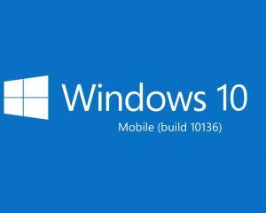 Impressions sur la build 10136 de Windows 10 mobile Preview + galerie photo