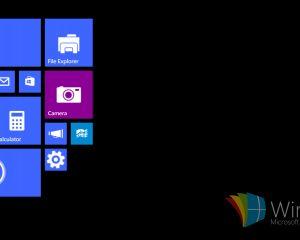 Premières images de Windows 10 sur une tablette de moins de 8 pouces
