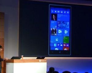 Windows 10 sur smartphone : nouveautés et photos de la conférence