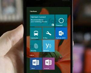 A quoi pourrait ressembler Windows 10 sur nos smartphones ?