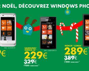 100€ remboursés sur l'HTC Radar, l'Omnia W et le Lumia 800 chez Sosh