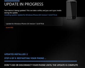 HTC Mozart : avez-vous reçu la mise à jour 8779 (Tango) ?