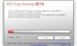 Sauvegardez et restaurez votre Windows Phone avec WP7 Easy Backup Tool