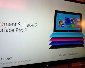 Retour sur la soirée de lancement Surface 2 et Surface Pro 2