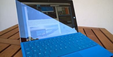 Test de la Microsoft Surface 3 sous Windows 8.1
