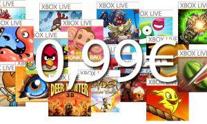 Liste des jeux Xbox Live à 0,99€