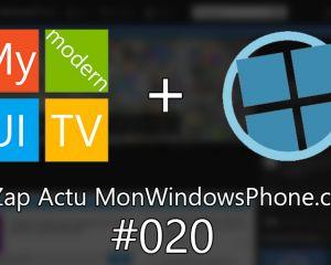 [VIDEO] Le Zap Actu MonWindowsPhone.com #20 + concours !