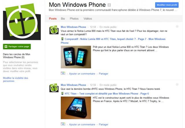 monwindowsphone google plus