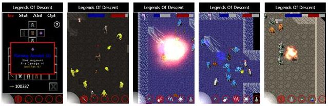 legends of descent windows phone