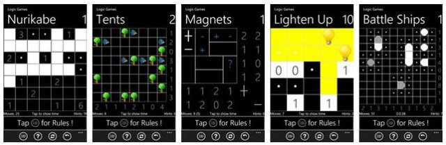 logic games windows phone
