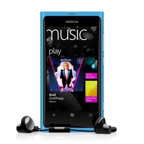 lumia 800 musique
