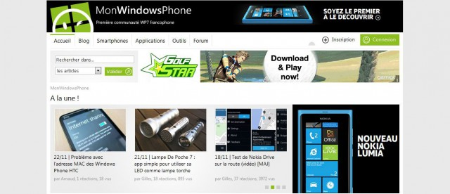 site monwindowsphone