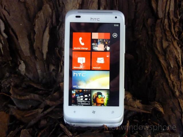 Htc radar test complet et d taill par mon windows phone for Photo ecran htc
