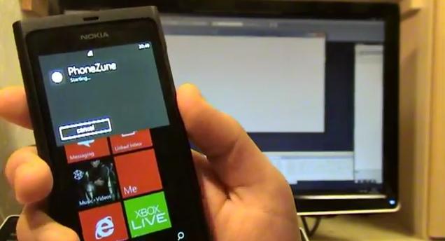 phonezune zunevoice lumia 800