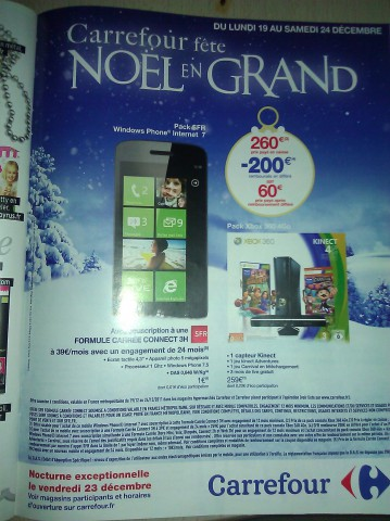 windows phone internet 7 carrefour