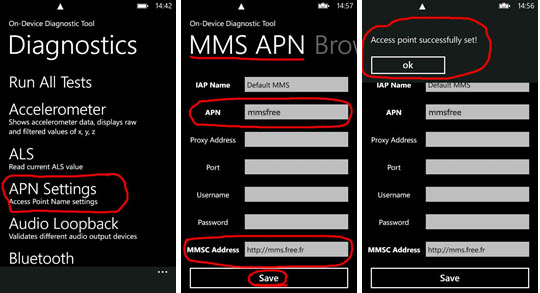 Tuto Configurer Les Mms Sur Le Nokia Lumia 800 Avec Free Mobile