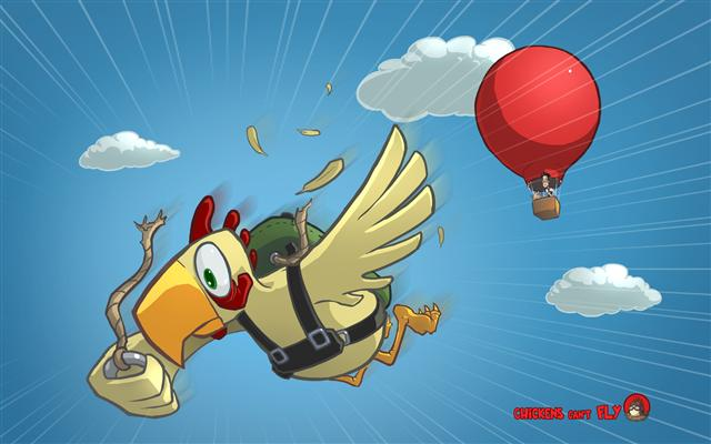 chickens cant fly