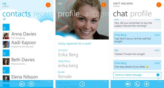 skype 1.0 windows phone