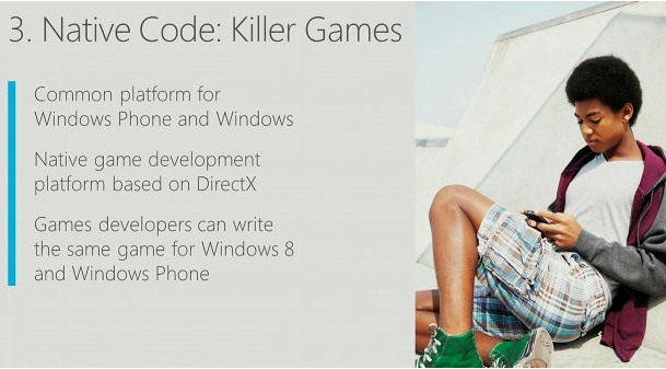code natif windows phone 8