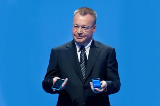 Stephen Elop Nokia WP