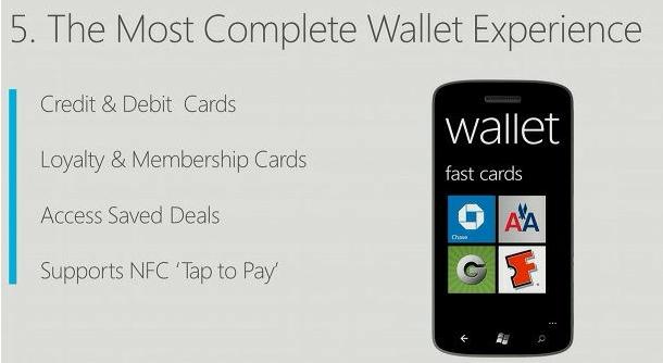 wallet windows phone 8
