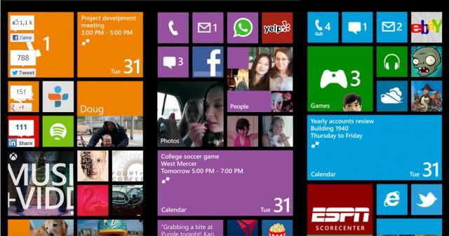 accueil windows phone 8