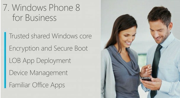 windows phone 8 entreprise