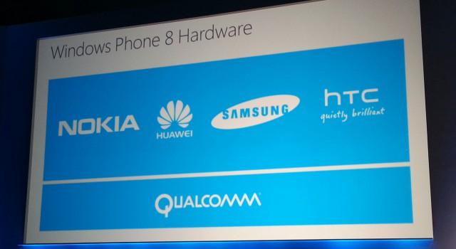 Windows Phone Hardware Oems Nokia HTC Huawei Samsung