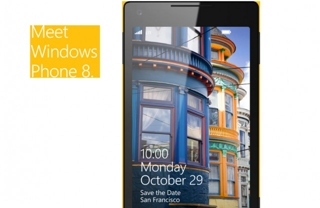 29 octobre windows phone 8