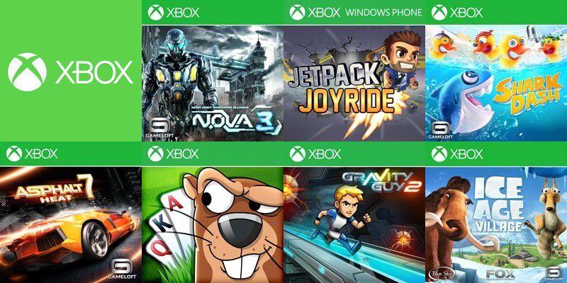 7 nouveaux jeux xbox venir pour windows phone 8 monwindows. Black Bedroom Furniture Sets. Home Design Ideas