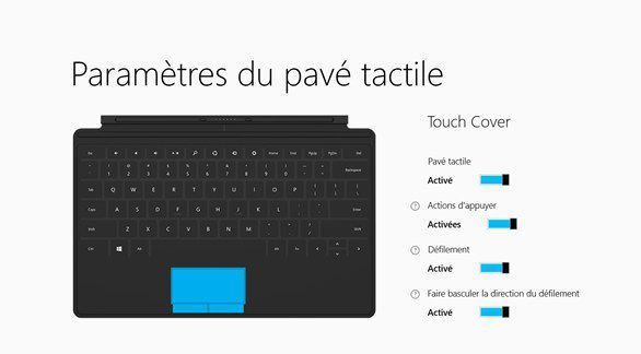 touchpad-surface