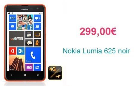 R 233 cap le nokia lumia 625 dispo chez plusieurs op 233 rateurs et plus