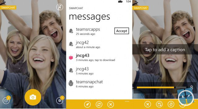 ... microsoft s snapchat alternative for windows phone brittany hillen