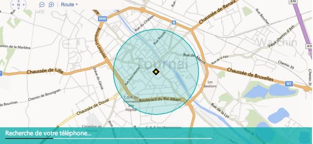 A) Configurer la localisation