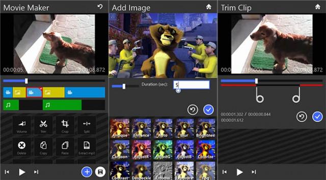 Maj movie maker 8 1 premi 232 re app de montage vid 233 o sous wp8 1