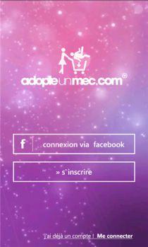 Adopteunmec version mobile