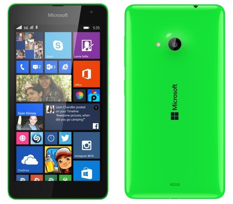 Test du Microsoft Lumia 535 sous Windows Phone 8.1 ...