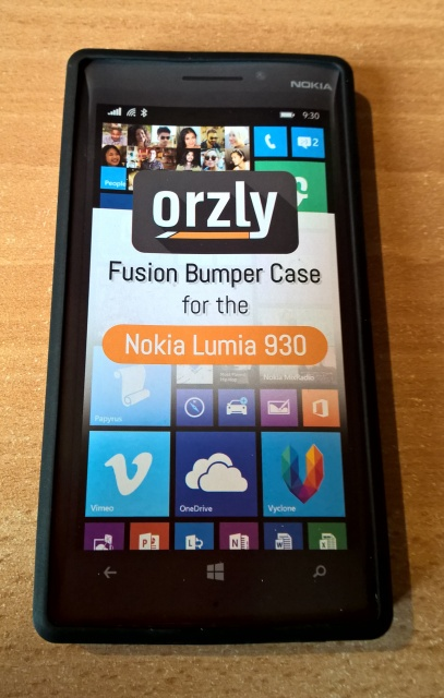 blog test de la coque orzly fusion gel hard case pour lumia  t