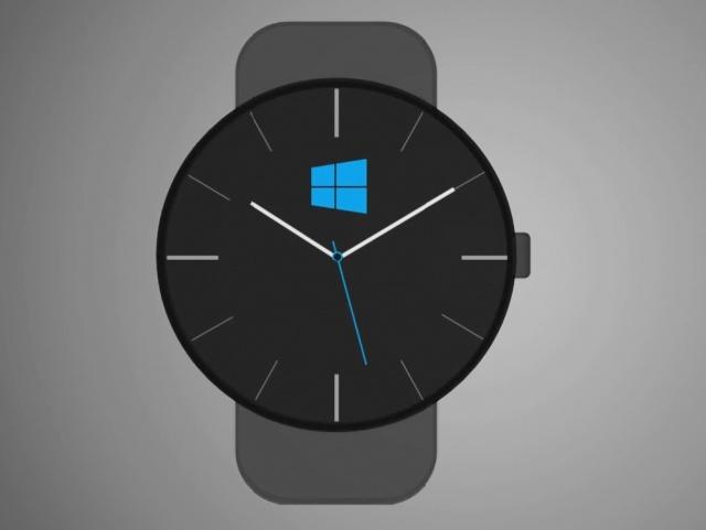 concept d 39 une montre connect e la microsoft watch monwindows. Black Bedroom Furniture Sets. Home Design Ideas
