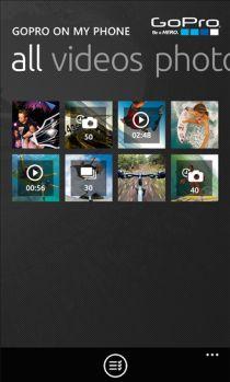 GoPro, sur Windows Phone, permet désormais de profiter de la Hero 4 Session